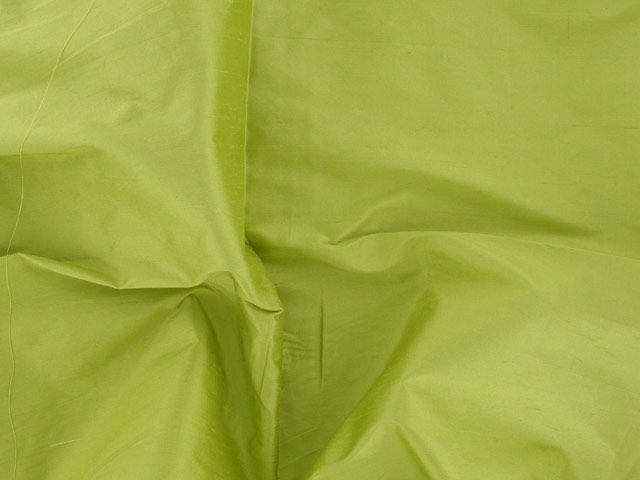 Fashion Silk Dupion - Apple Green