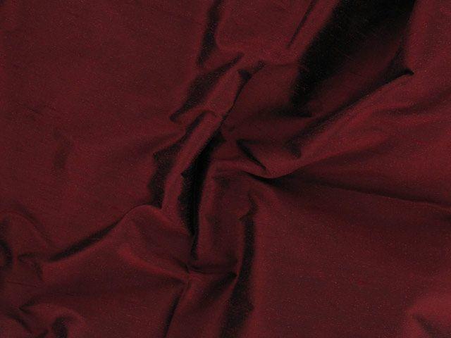 Fashion Silk Dupion - Burgandy