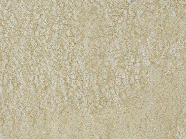Polyester Metallic Mesh - Gold