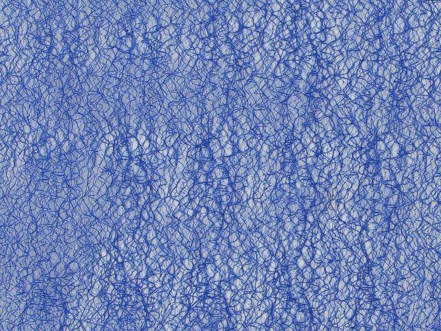 Polyester Metallic Mesh - Blue