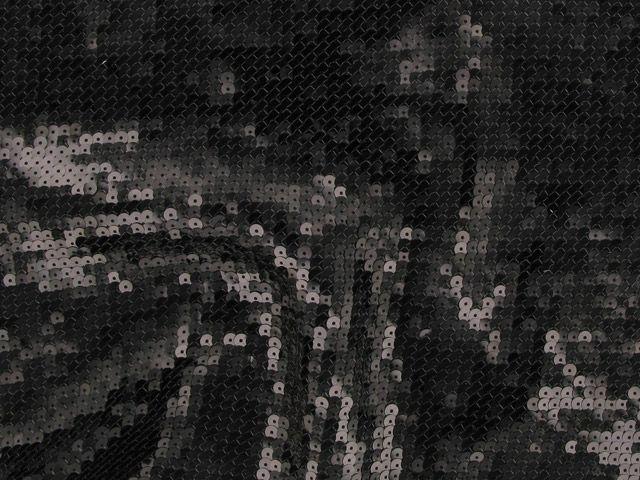 Fishscale Sequin - Black