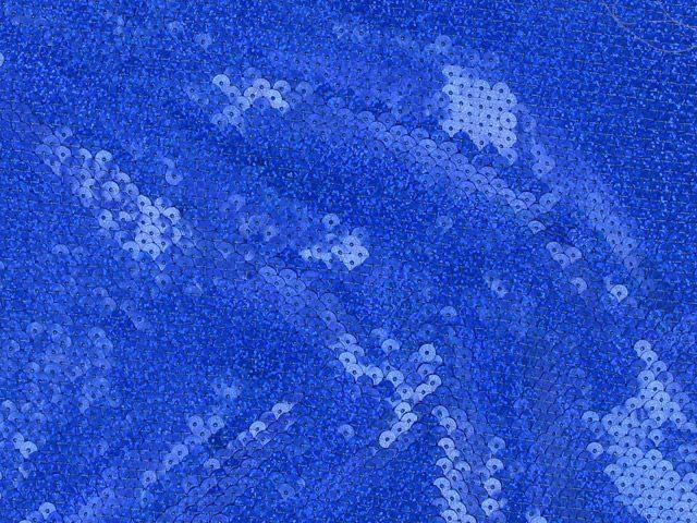 Fishscale Hologram Sequin - Blue