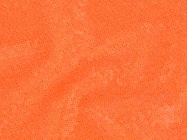 Fishscale Sequin - Orange