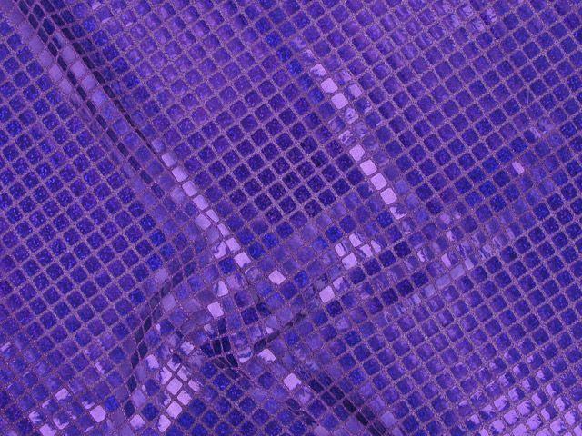 Square Hologram Sequin - Blue