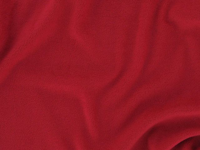 Polar Fleece Anti-Pil - Red