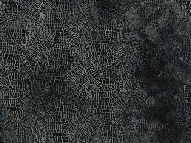 Tie Dyed Velour - Dark Grey