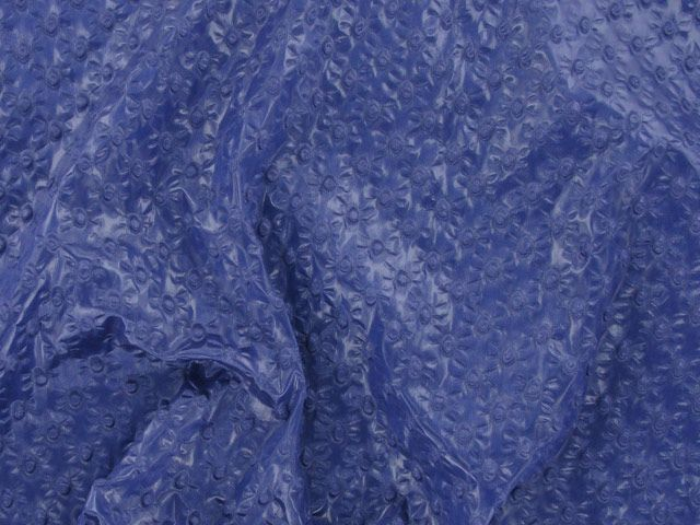 Bodre  - Clear Coated with Plisse - Dark Blue