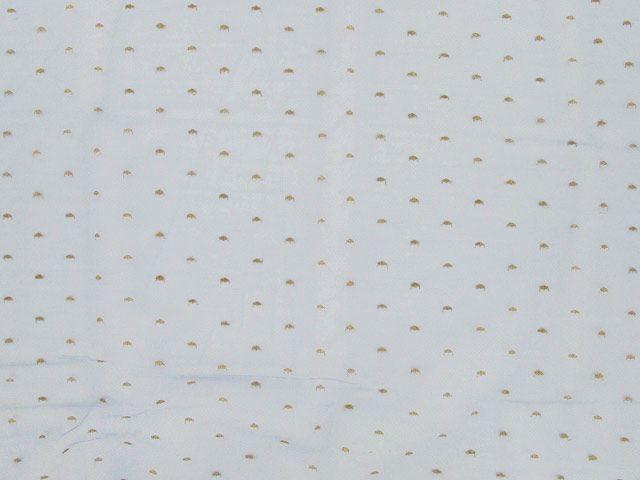 Metallic Spot Nylon Lace - Lilac