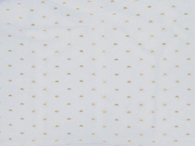Metallic Spot Nylon Lace - Violet