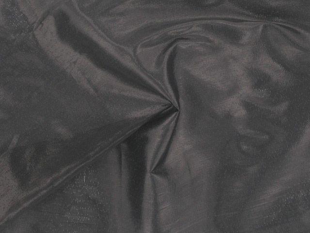 Metallic Lame - Black