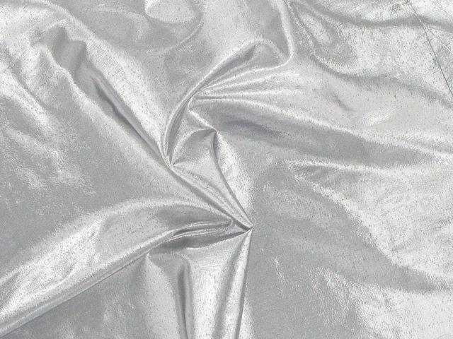 Metallic Lame - Grey