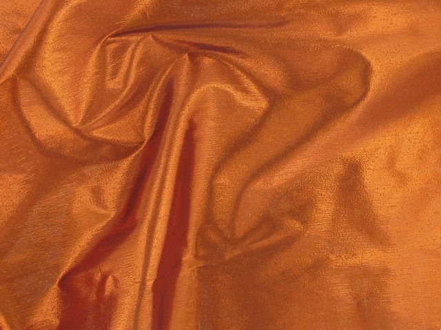 Metallic Lame - Orange