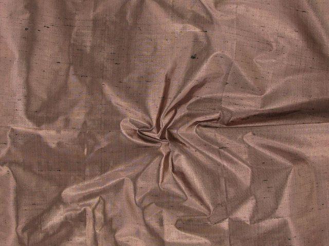 Metallic Silk Dupion - Sand Dune