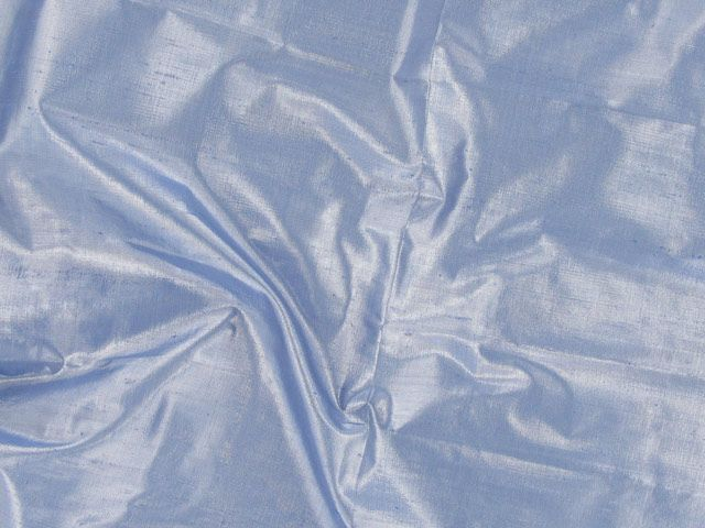 Metallic Silk Dupion - Gull Grey
