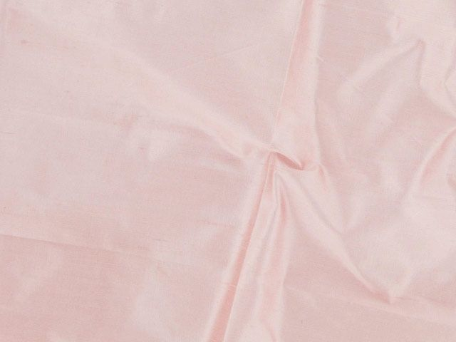 Metallic Silk Dupion - Pale Pink