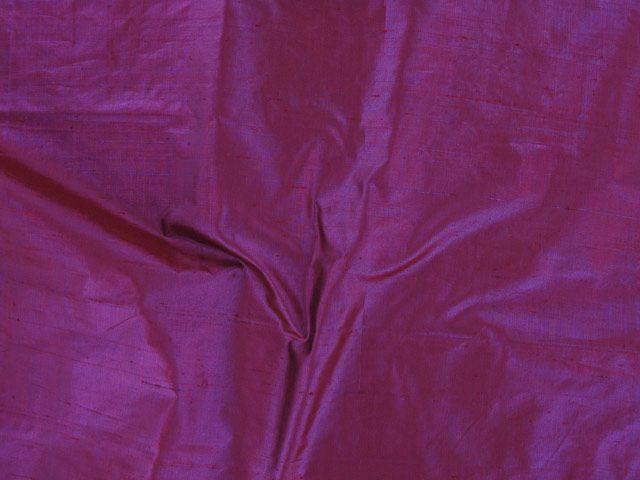 Metallic Silk Dupion - Deep Purple