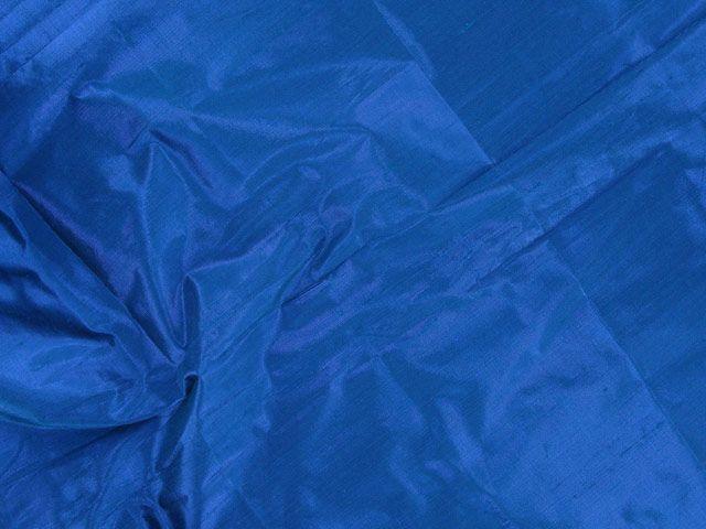Metallic Silk Dupion - Cobalt