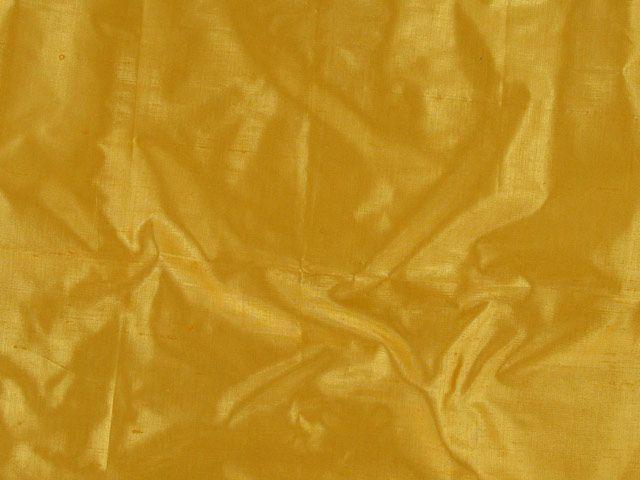 Metallic Silk Dupion - Mustard Seed