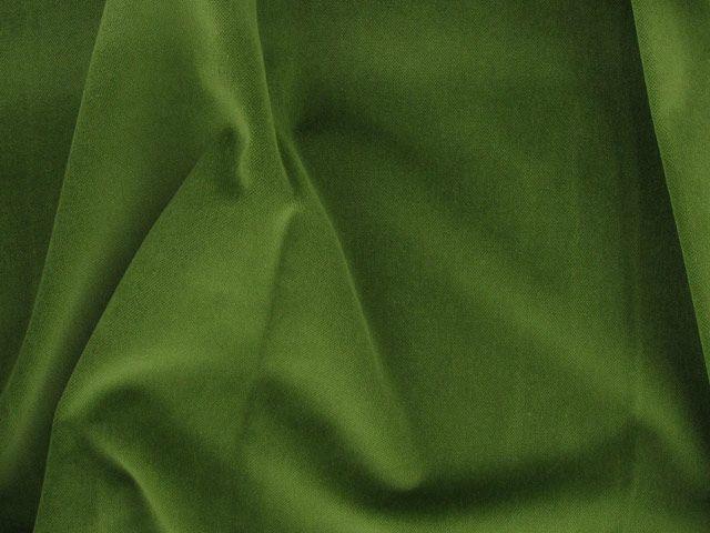 Cotton Pile Velvet, 310 g/m², Lime