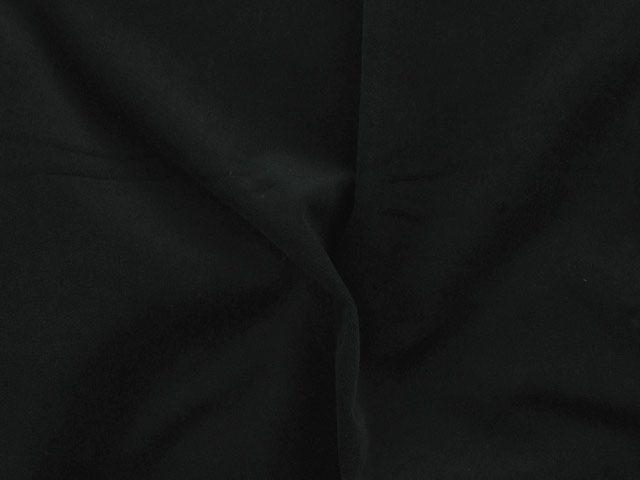 Cotton Pile Velvet, 310 g/m², Black