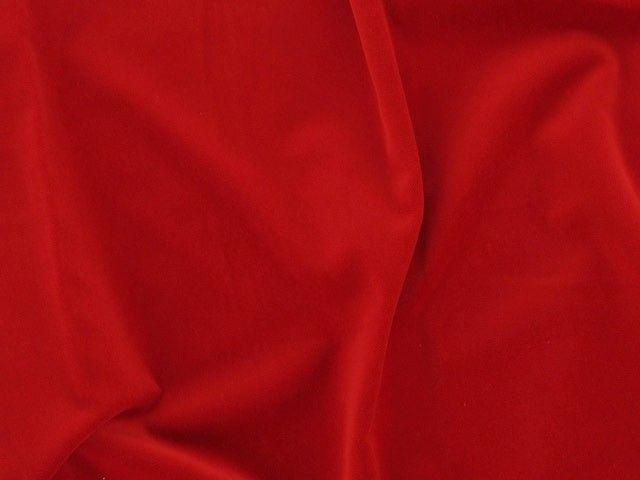 Cotton Pile Velvet, 310 g/m², Red