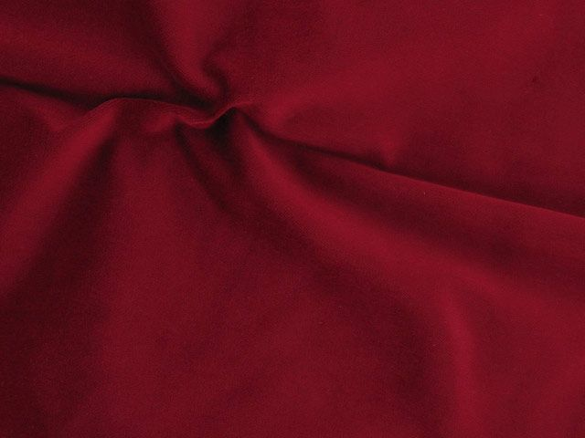 Cotton Pile Velvet, 310 g/m², Crimson