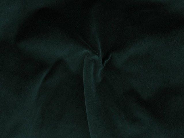 Cotton Pile Velvet, 310 g/m², Emerald