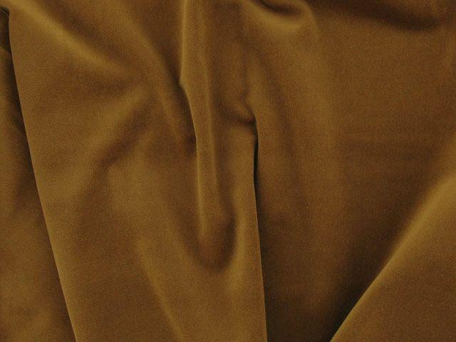 Cotton Pile Velvet, 310 g/m², Walnut