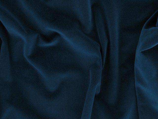 Cotton Pile Velvet, 310 g/m², Airforce