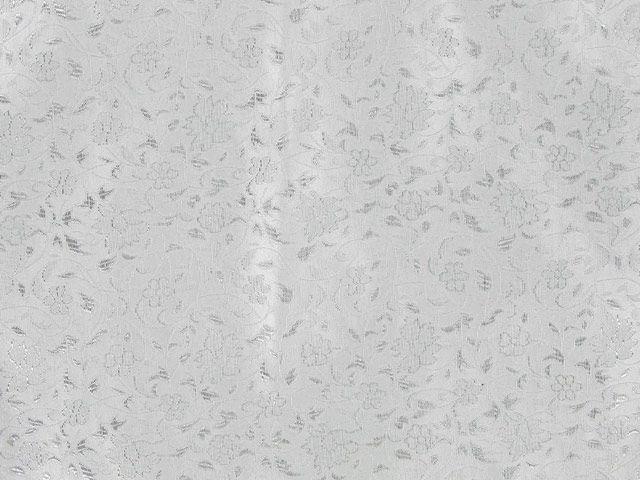 Metallic Brocade - Silver