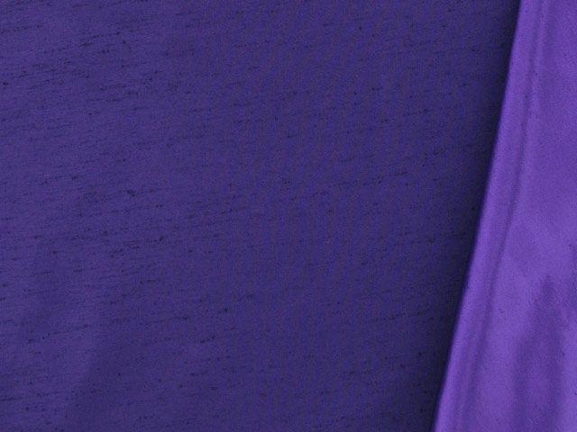 Two Tone Dupion - Purple