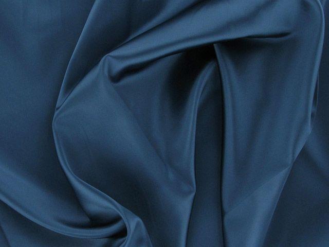 Satin Acetate - Navy Blue