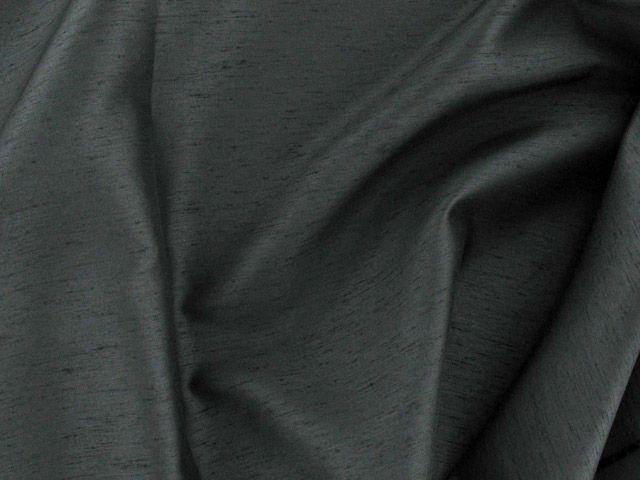 Satin Back Shantung - Black
