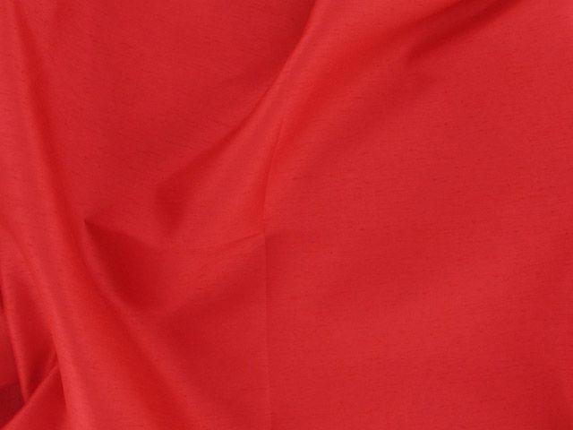 Satin Back Shantung - Red