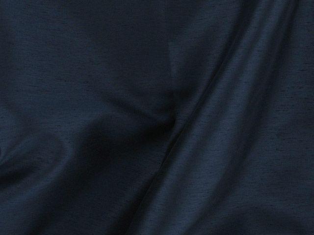 Satin Back Shantung - Dark Navy