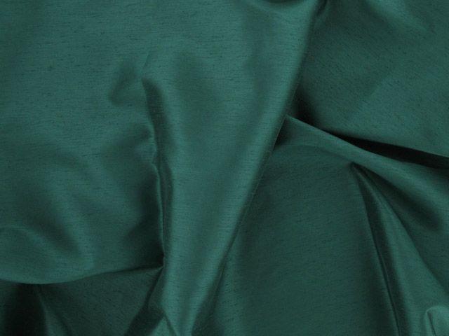 Satin Back Shantung - Bottle Green