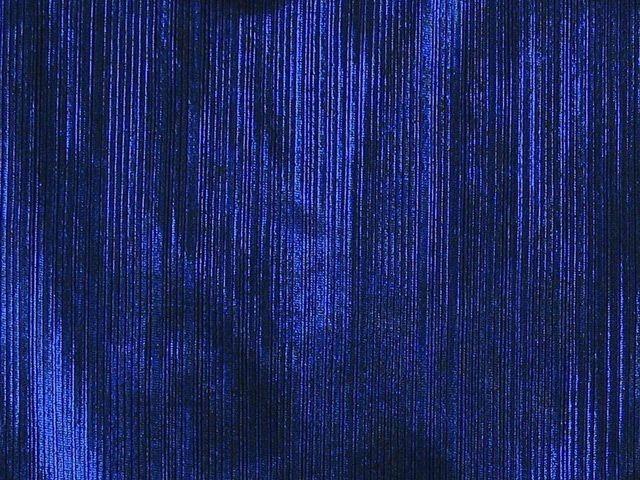 Spandex Knit Foil - Royal Blue