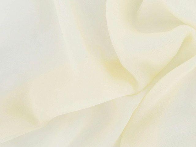 Silk Chiffon - Parchment