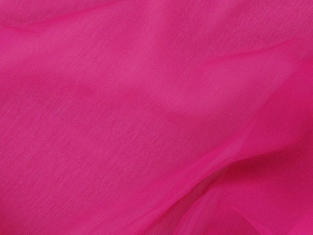 Silk Chiffon - Fuchsia