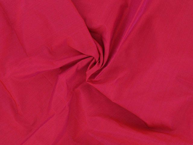 Silk Habutai - Crimson