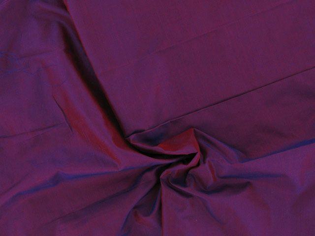 Silk Habutai - Metallic Tamarind