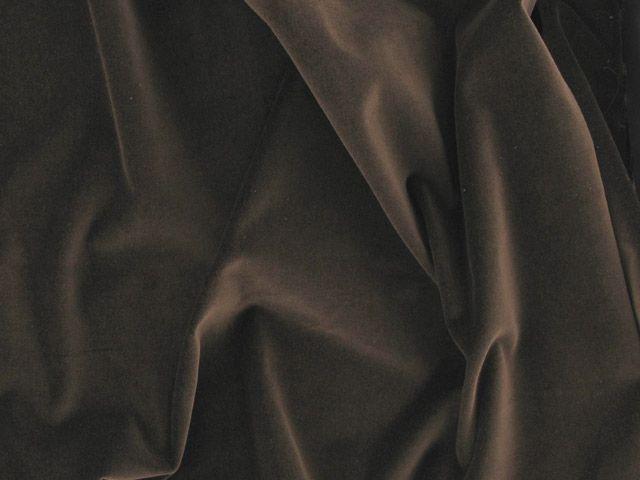 Cotton Pile Velveteen, 240 g/m², Brown