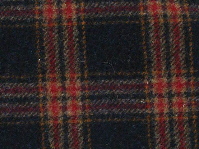 Tartan Wool - Navy