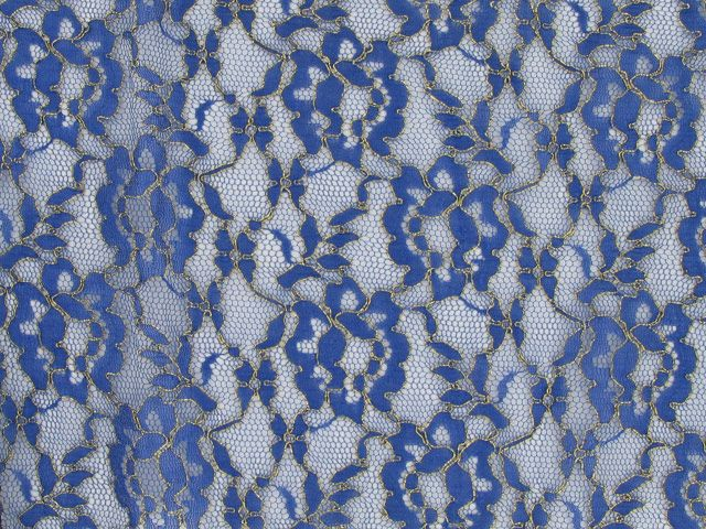 Corded Lace - Blue