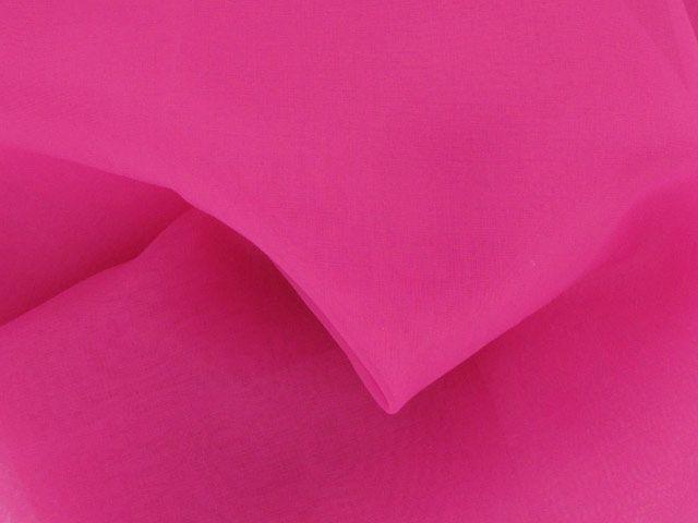 Organza - Bright Pink
