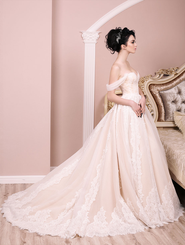 Bridal Fabrics at Dalston Mill Fabrics
